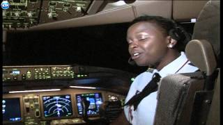 Download Captain Mwangi and his daughter flying KQ together Video