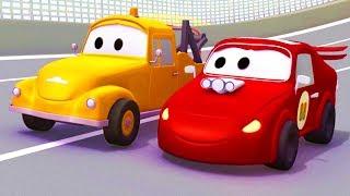 Download Tom la Grúa con sus amigos los Coches de Carreras y más en Auto City | Dibujos animados para niños Video
