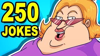 Download 250 JOKES - Can You Watch Them All? Video