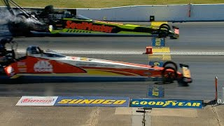 Download Doug Kalitta beats J.R. Todd in the closest final in NHRA Top Fuel history Video