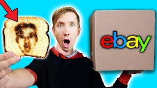 Download 15 WEIRD BREAKFAST GADGETS - EBAY MYSTERY BOX (Challenge Unboxing Haul!) Video