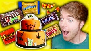 Download GIANT HALLOWEEN CANDY CAKE Video