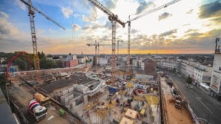 Download construction site time lapse shopping mall | Minto Mönchengladbach - MFI Video