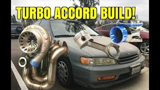 Download Turbo Sleeper 94 Honda Accord Build [Part 1] Intercooler mount + valve cover Video