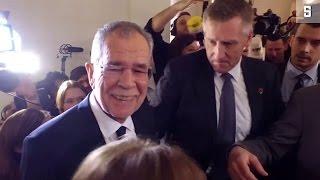 Download Präsidentenwahl in Österreich: Sieg für Van der Bellen, Niederlage für FPÖ Video