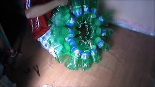 Download How to build christmas lantern from recycled bottles. Video