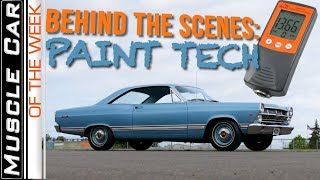Download Behind The Scenes Paint Tech Muscle Car Of The Week Video Episode 311 V8TV Video