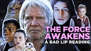 Download ″THE FORCE AWAKENS: A Bad Lip Reading″ (Featuring Mark Hamill as Han Solo) Video