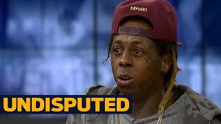 Download Lil Wayne's opinion on Kevin Durant and Dwyane Wade changing teams | UNDISPUTED Video