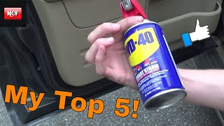 Download 5 Top Reasons To Use WD40 In And On Your Car!! Life Hack Video