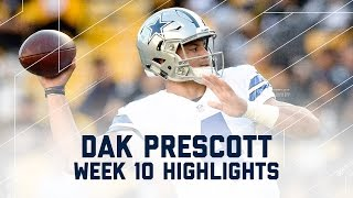 Download Dak Prescott Leads Cowboys to 8th Straight Win! | Cowboys vs. Steelers | NFL Wk 10 Player Highlights Video