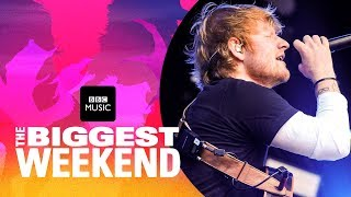 Download Ed Sheeran - Shape of You (The Biggest Weekend) Video
