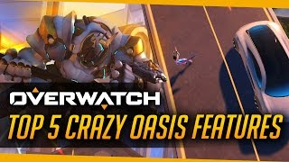 Download Overwatch | Top 5 CRAZY Things on Oasis Video