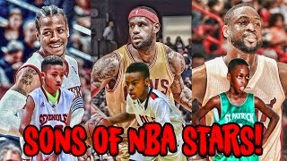 Download 5 Sons of NBA LEGENDS Who Play Just Like Their Dads! Video