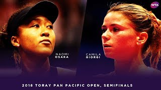 Download Naomi Osaka vs. Camila Giorgi | 2018 Toray Pan Pacific Open Semifinals 大坂なおみ | WTA Highlights Video