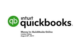 Download Money In QuickBooks Online Webinar with Lielette Celleja Video