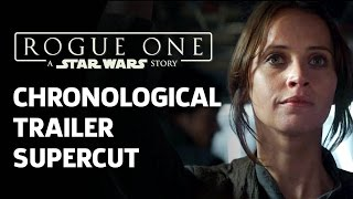 Download Trailer Supercut: All Rogue One Clips In Chronological Order Video