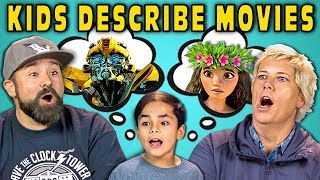 Download CAN PARENTS GUESS MOVIES DESCRIBED BY KIDS? (React) Video