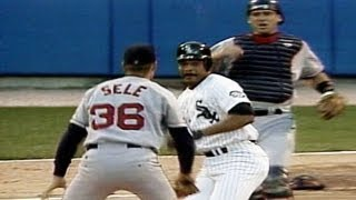 Download White Sox, Red Sox throw down after George Bell hit by pitch Video