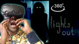 Download I'm Never Turning My Lights Off!! | 360° Horror | Inspired By Lights Out REACTION Video