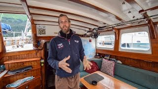 Download Sailing The World ~ One Man And His Sailboat ~ Full Tour Of His Tiny Home Video