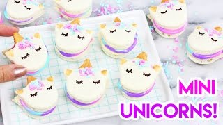 Download How to Make Mini Unicorn Macarons! 🦄 Video