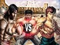 Download Liu kang vs Fei Long and Marshall Law - Mortal Kombat vs Street Fighter vs Tekken Video