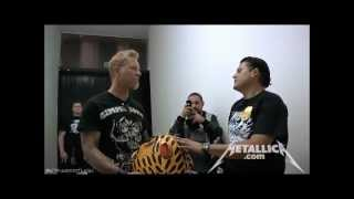 Download Metallica - Meet And Greet [Mexico City July 30, 2012] HD Video