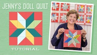 Download Learn How to Make Jenny's Doll Quilt! Video