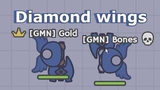 Download Moomoo.io - Diamond Wings Texture Pack | ft. Bones Video