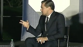 Download Leonardo DiCaprio & Obama Talk Climate Change At SXSL Video