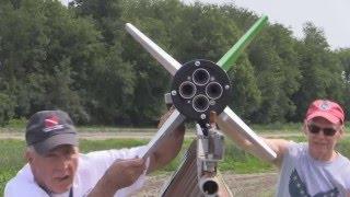 Download Terrier-Sandhawk N-M 2 Stage Rocket LDRS 34 Video