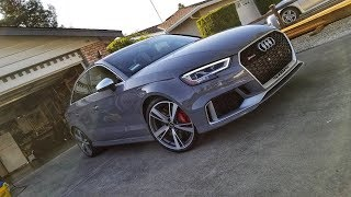 Download Detailed (owner's) Review of the 2018 Audi RS3 Sedan Video