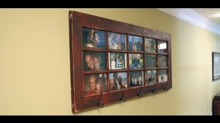 Download Creating a French Door Photo Gallery/ Coat Rack for Your Wall Video