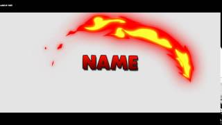 Download Free 2D Flame Intro Template Video