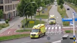 Download Zeer Veel Hulpdiensten met spoed naar Grote Brand KORTLANDPAD ZOETERMEER Video