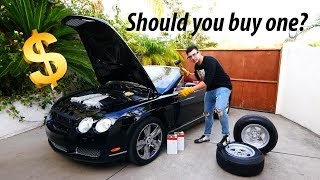 Download Maintaining A Used Bentley GT Costs Less Than You Think... Video