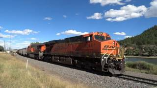 Download Southbound BNSF Coal Train Breaks Apart at Palmer Lake Video