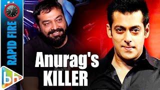 Download Anurag Kashyap's KILLER Rapid Fire On Pahlaj   SRK   Modi   Salman Video