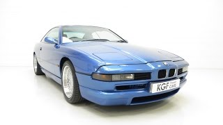 Download A Superlative BMW E31 840Ci Sport with 38,993 Miles and Same Owner for 18 Years - SOLD! Video