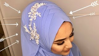 Download Occasional Criss Cross Hijab Style I Laced I Türban I Mezuniyet I Wedding I Nisan I Kina I Dügün Video