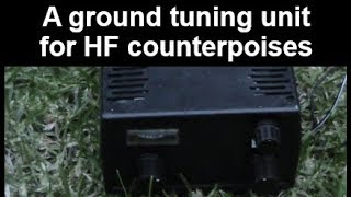 Download Ground tuning unit for HF vertical antennas Video
