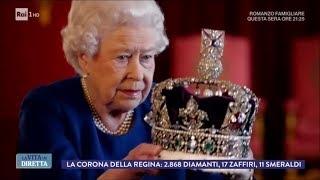 Download Regina Elisabetta: ″La corona è così pesante da spezzare il collo″ - La Vita in Diretta 16/01/2018 Video