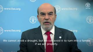 Download FAO Director-General's message on World Desertification and Drought Day Video