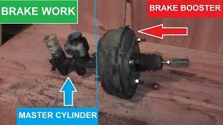 Download Master Cylinder and Brake Booster Replacement with Basic Hand Tools Video