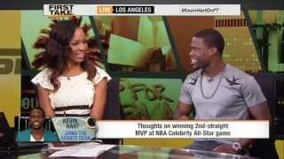 Download Kevin Hart On ESPN First Take! (Taking shots At Stephen A Smith & Skip Bayless) Video