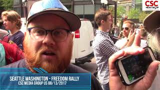 Download Proud Boys Send Loony Unhinged Lefties Into A Triggered Rage At Seattle Freedom Rally Video