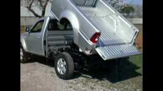 Download TATA XENON 4X2 OR 4X4 SINGLE AND DOUBLE CAB RIBALTABILE TIPPER KIPPER BENNES VOLCADOR Video