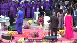 Download Pastor E.A Adeboye ministration at Winners Chapel (Living Faith Church Worldwide) 35th Anniversary Video