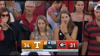 Download ANGRY GEORGIA FANS RAGE ABOUT LOSS TENNESSEE 34 - GEORGIA 31 Video